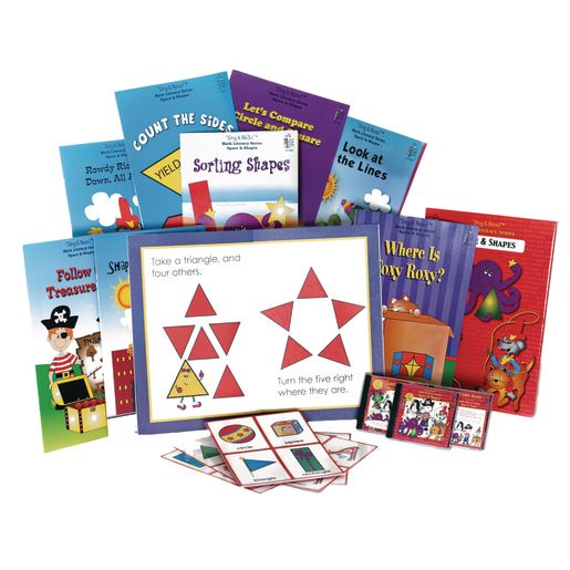 Sing & Read Math Space & Shapes