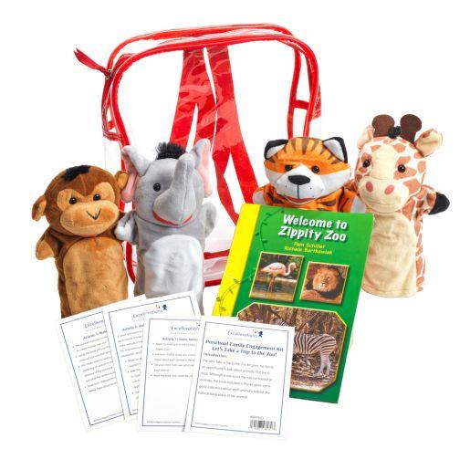 Preschool Family Engagement Kit-  Zoo