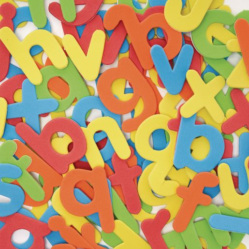 Image of Colorations Self-Adhesive Lowercase Letters Set of 150