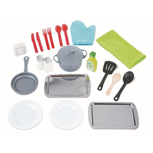 Chef's Kitchen and 22-Piece Accessory Set