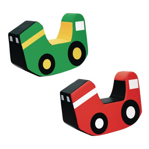 Image of Environments Soft Play Rocking Tractors - Set of 2