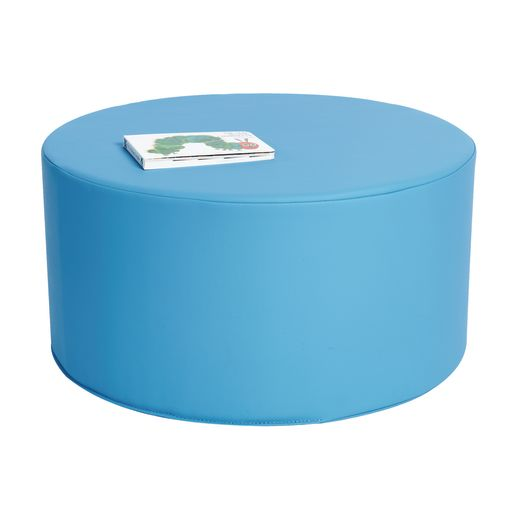 Image of Environments Round Social Seating - 24Dia. Blue