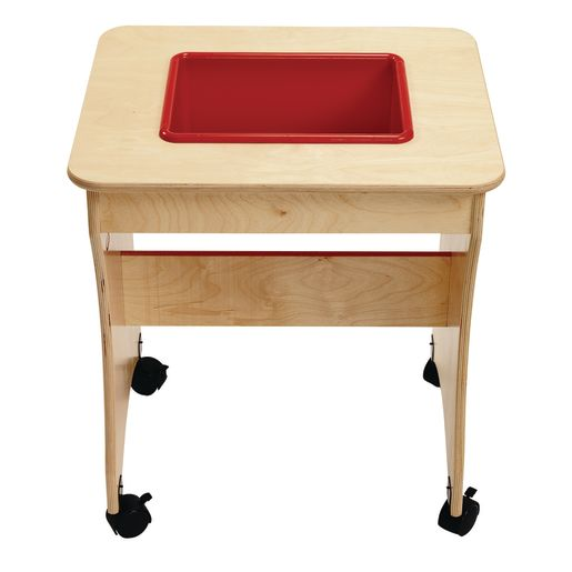 Value Line™ Birch Sensory Tables Rectangle