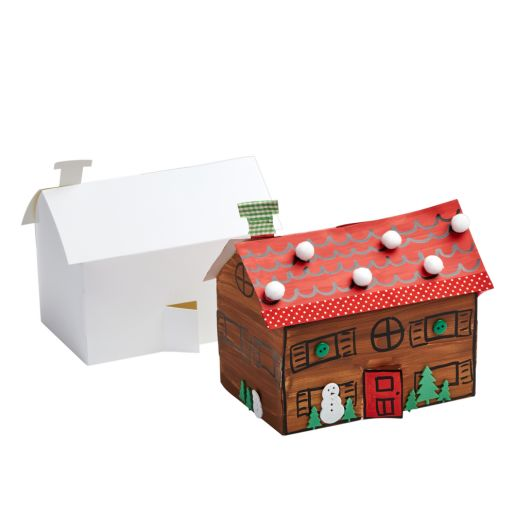 Image of 3-D Paper Folding Houses, Set of 20