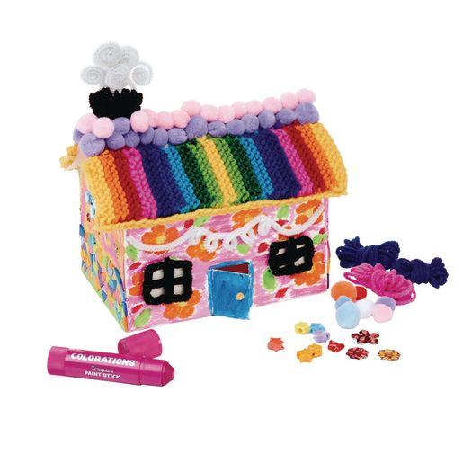 3-D Paper Folding Houses, Set of 20