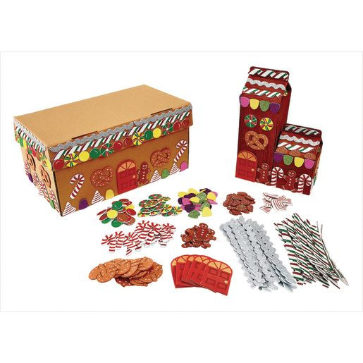Colorations® Decorating Kit for Gingerbread House