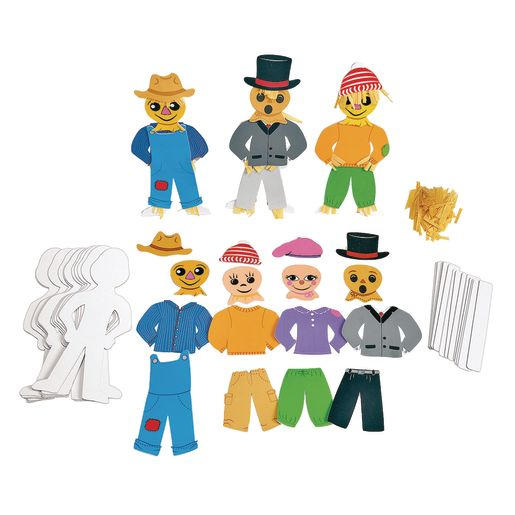 Image of Colorations Standing Scarecrow Kit for12