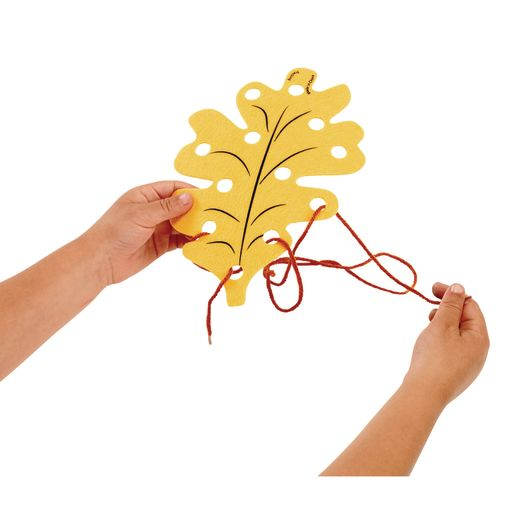 Fun Weaving Leaves Set of 24