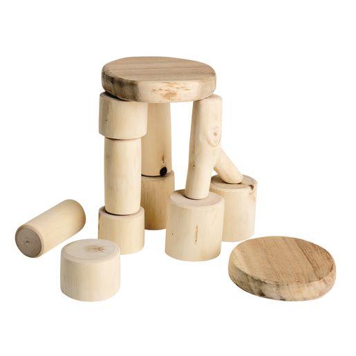 Baby Tree Blocks Set of 12