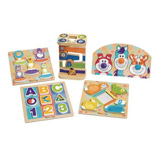Chunky Wooden Puzzles Set of 5