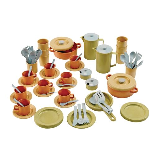 Eco-Friendly Mega Dish Set 79 Pieces