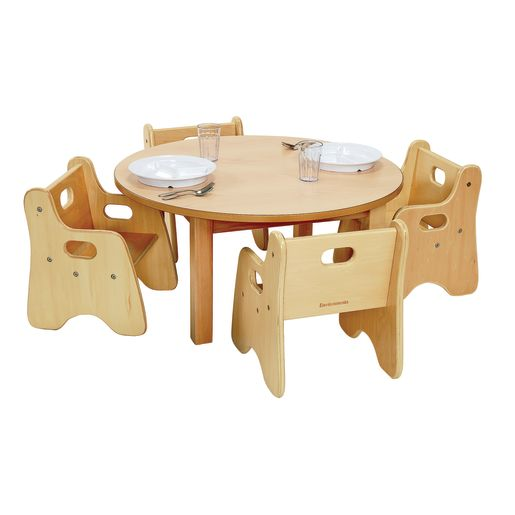 """Round Table 30"""" and 4 Chairs"""