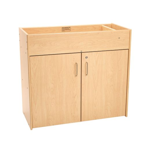 Infant Changing Table, Laminate Top - Maple/Maple