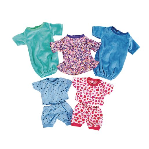 "Excellerations 10""-12"" Multi-Size Doll Sleepwear_0"