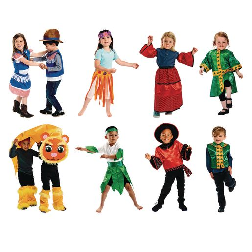 Image of Excellerations Dance Around the World Multicultural Dance Costumes