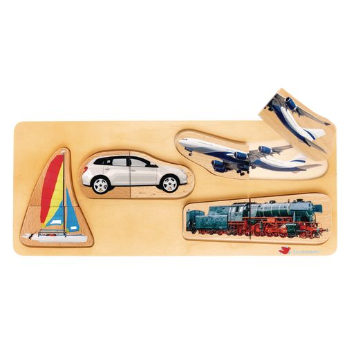 Environments® Toddler Photo Puzzles- Vehicles