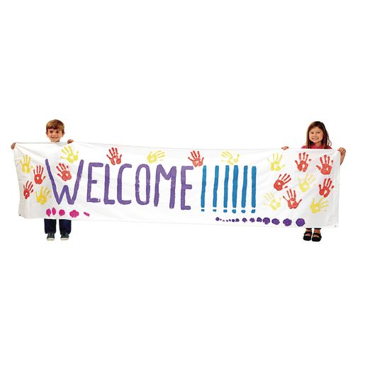 Colorations Working Together Classroom Banner 10' x 2-2/5'