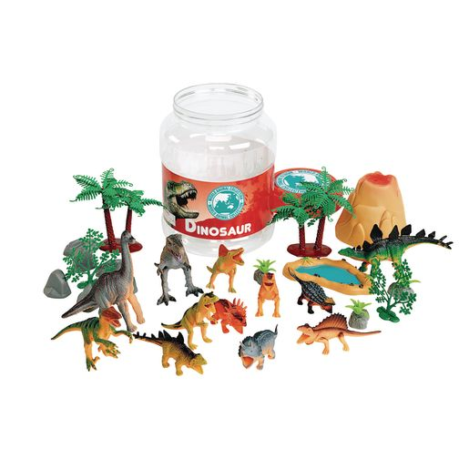 Image of Dinosaur Bucket Set of 31 Pieces