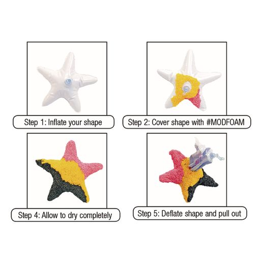 Colorations® Reusable Inflatable Foam Forms Set of 12
