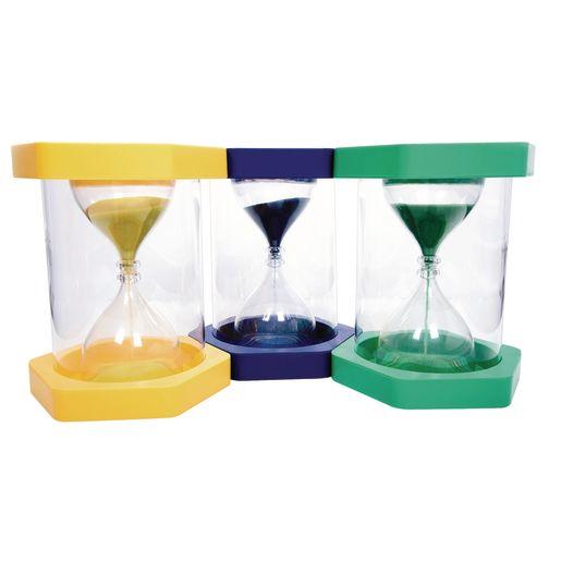 Jumbo Classroom Sand Timers Set of 3