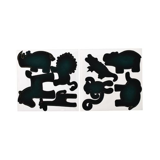 Colorations® Scratch Art Animal Stickers 100 Stickers