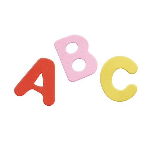 Colorations® Self-Adhesive Uppercase Foam Shapes 150 Pieces