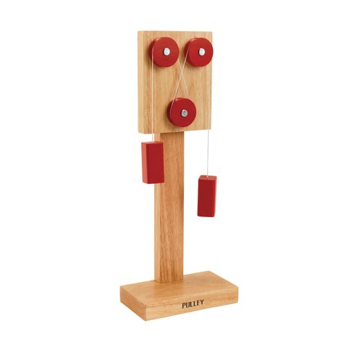 Image of Simple Wooden Pulley Machine