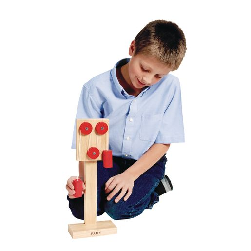 Simple Wooden Pulley Machine