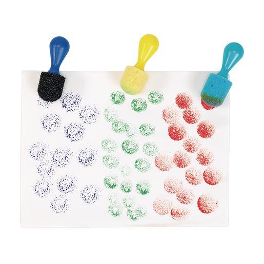 Foam Painting Dabbers Set of 12