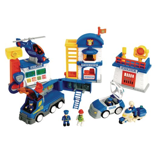 Image of Lights & Sound Police Department Playset