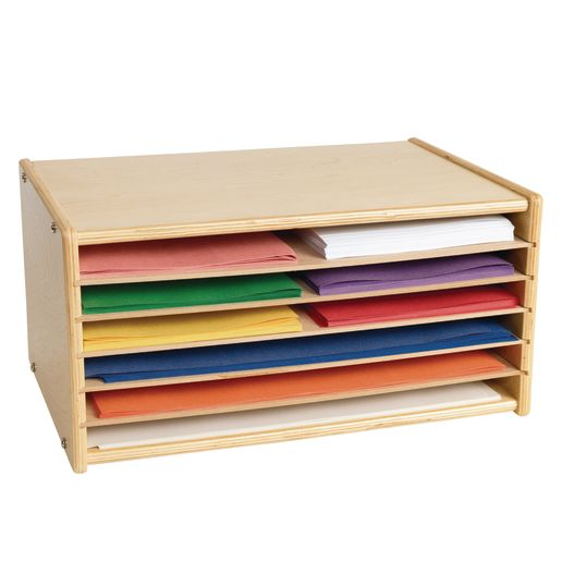 Colorations® Wooden Organizer for Paper Storage