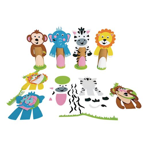 Colorations® Foam Safari Paper Roll Decorations