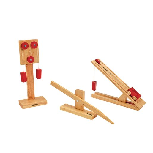 Simple Wooden Machines Set of 3