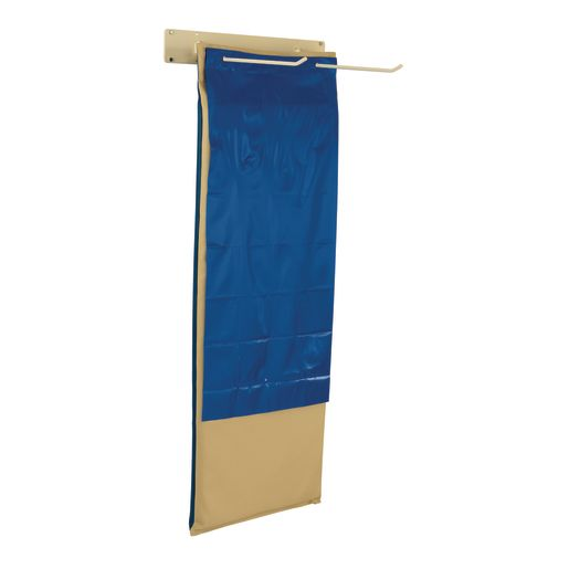 Hanging Rest Mats with Hanger and Separators, Set of 8