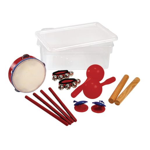 8-Piece Super Player Rhythm Set with Storage