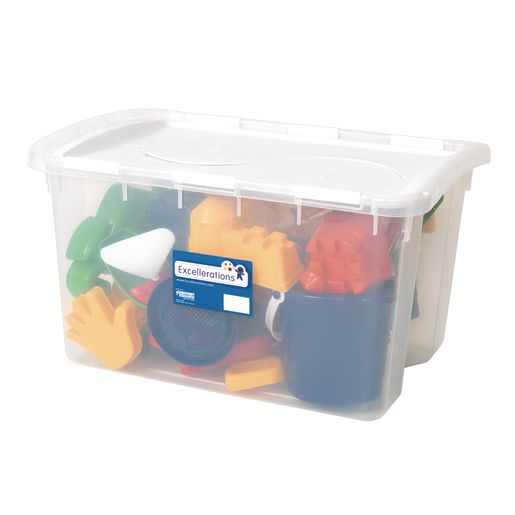 Super Classroom Sand Set - 34 Pieces