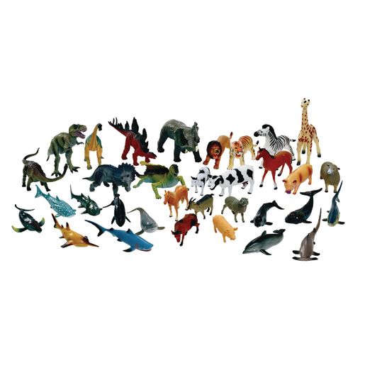 Image of Classroom Starter Kit Big Animals Set of 31 with Storage