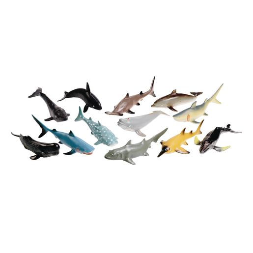 Classroom Starter Kit Big Animals Set of 31 with Storage