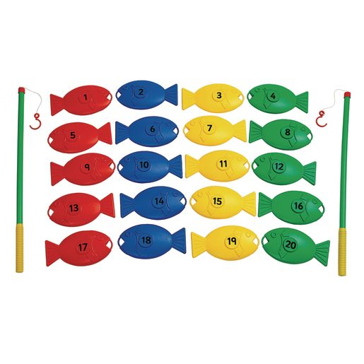 Giant Fishing Set Numbers 22 Pieces
