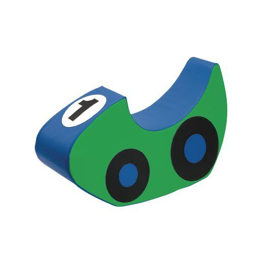 Blue/Green Rocking Race Car #1