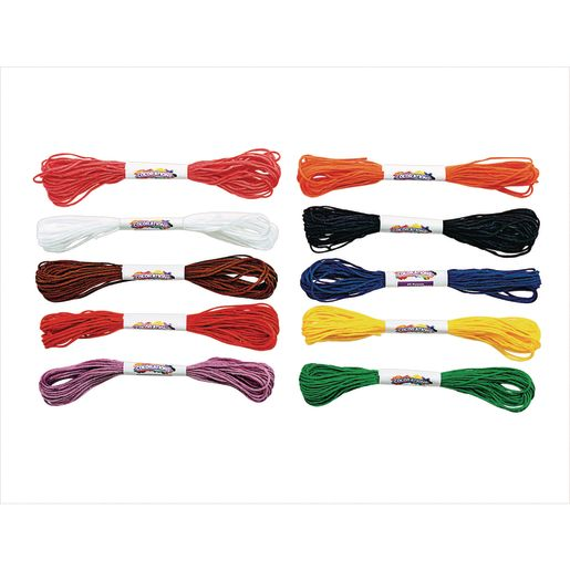 Colorations® All Purpose Embroidery Floss, Set of 100 Skeins, 10 Colors