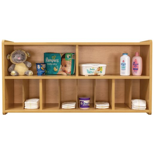 Diaper Wall Storage - Maple/Maple, Assembled