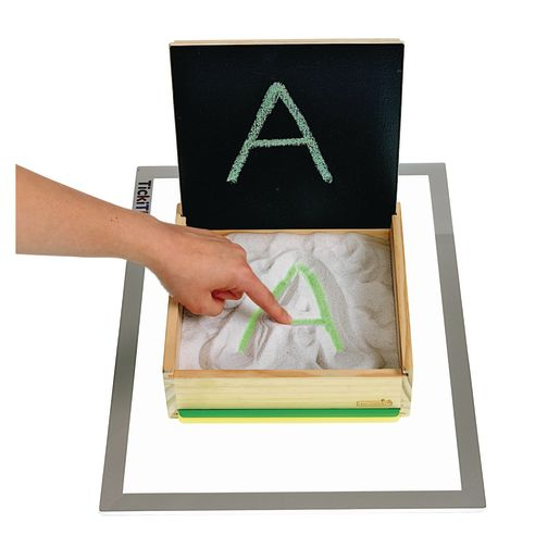 Excellerations® Prewriting Sand & Light Table Tray Set of 4
