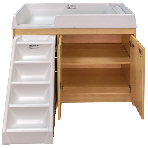 Walkup Changing Table - Maple/Maple