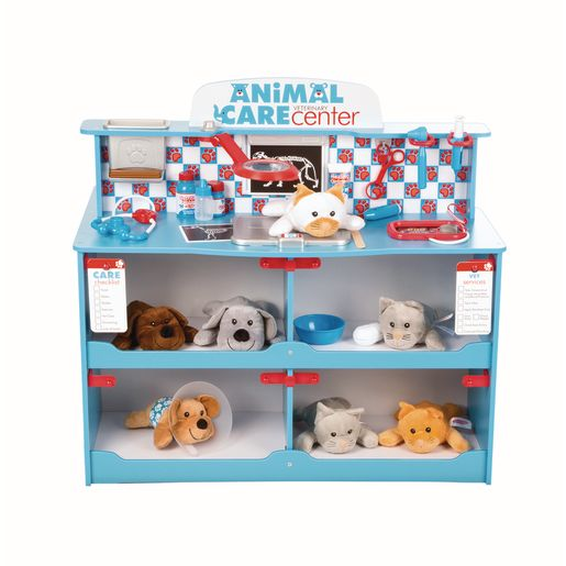 Pet Play Center and Accessories Set