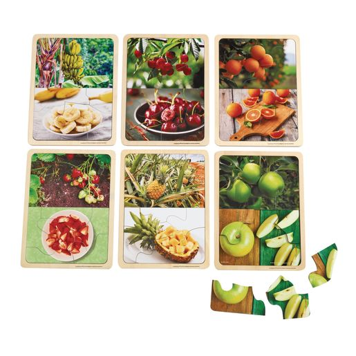 Image of Excellerations Fruit Photo Puzzles Set of 6