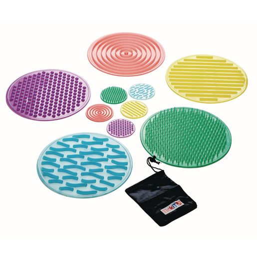 Image of SiliShapes Sensory Circles Set of 10