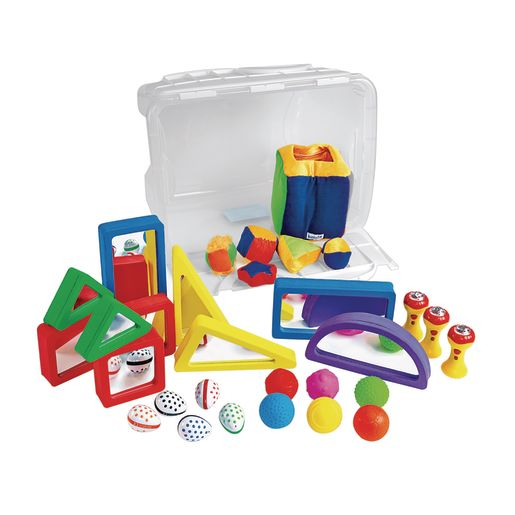 Image of Toddler Sensory Exploration Box 29 Pieces