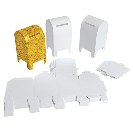 Colorations® Fun-Fold Paper Mailbox Set of 20_1