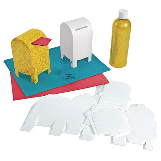 Colorations® Fun-Fold Paper Mailbox Set of 20_2